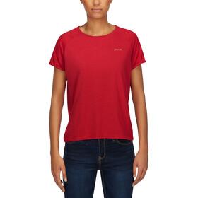 PYUA Skip S T-Shirt Femme, red melange